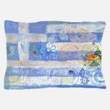 Greek Flag Pillow Case