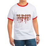 No Blood for Oil Ringer T Shirt