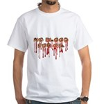 No Blood for Oil Tee Shirt (White)