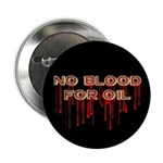 No Blood for Oil Button
