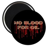 No Blood for Oil Magnet