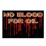 No Blood for Oil Postcards (8 pk)