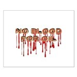 No Blood for Oil Poster (Small)