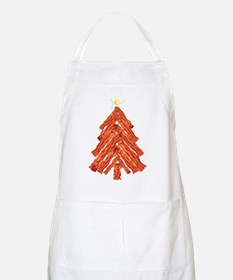 Bacon Christmas Tree Apron