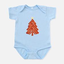 Bacon Christmas Tree Infant Bodysuit
