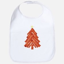 Bacon Christmas Tree Bib