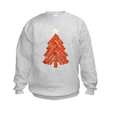 Bacon Christmas Tree Sweatshirt