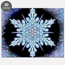 August Snowflake - square Puzzle