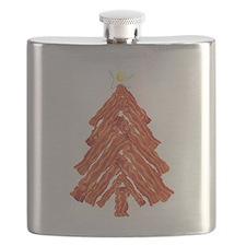 Bacon Christmas Tree Flask
