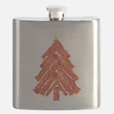 Bacon Christmas Tree Flask