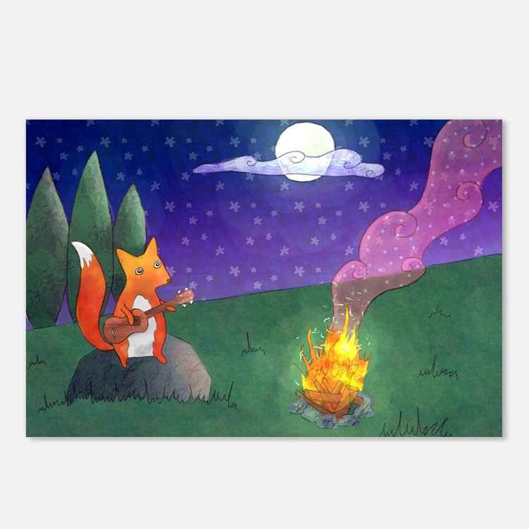 The Fox Postcards (Package of 8)