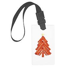 Bacon Christmas Tree Luggage Tag