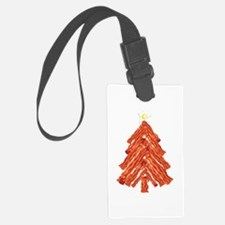 Bacon Christmas Tree Luggage Tag