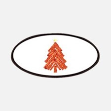 Bacon Christmas Tree Patches