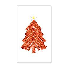 Bacon Christmas Tree Wall Decal