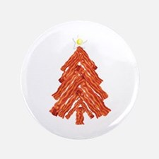 "Bacon Christmas Tree 3.5"" Button (100 pack)"
