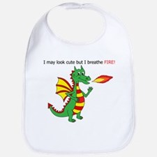 Fire breathing dragon Bib