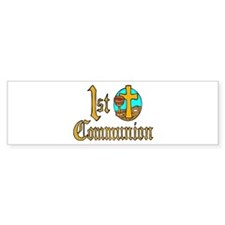 First Holy Communion Bumper Bumper Sticker