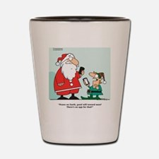 ChristmasApp Shot Glass