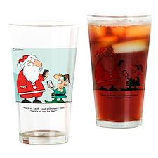 ChristmasApp Drinking Glass