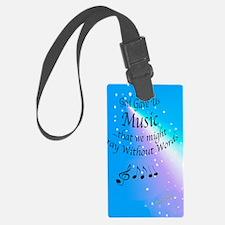 God Gave Us Music Luggage Tag