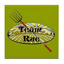 Team Rue Farmer Tile Coaster