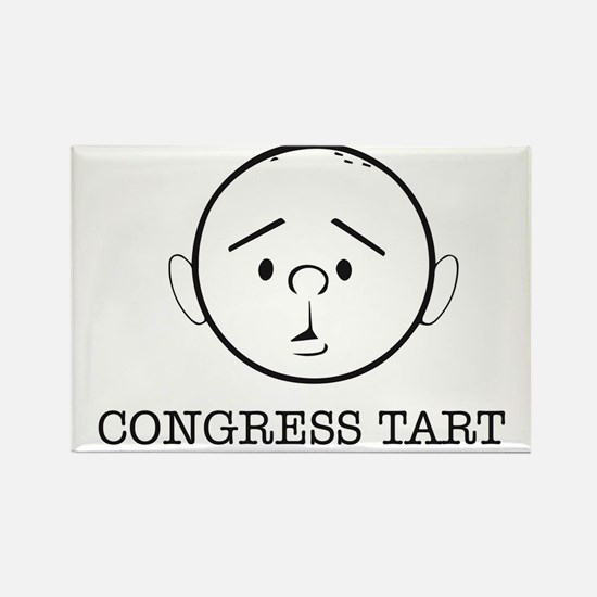 Karl Pilkington Congress Tart Rectangle Magnet