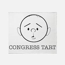 Karl Pilkington Congress Tart Throw Blanket