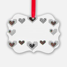 Autism With Heart Ornament