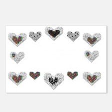 Autism With Heart Postcards (Package of 8)