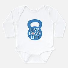 Blue Live Love Lift Body Suit