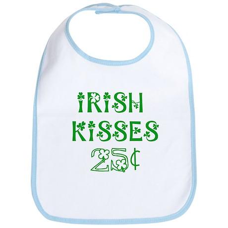 Irish Kisses 25 cents Bib