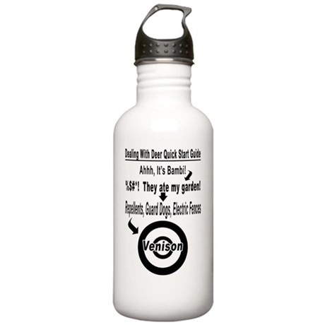 Dealing With Deer Quic Stainless Water Bottle 1.0L