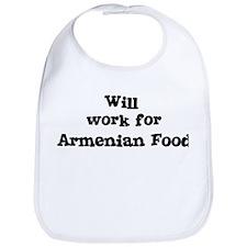 Will work for Armenian Food Bib