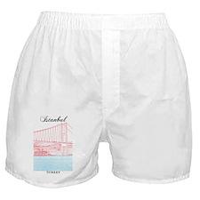 Istanbul_9x15_BosphorusBridge Boxer Shorts