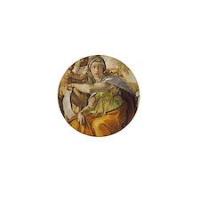 Michelangelo Delphic Sibyl Mini Button