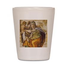 Michelangelo Delphic Sibyl Shot Glass