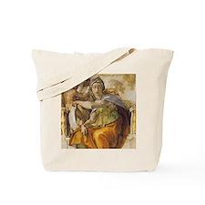 Michelangelo Delphic Sibyl Tote Bag