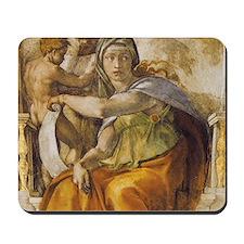 Michelangelo Delphic Sibyl Mousepad