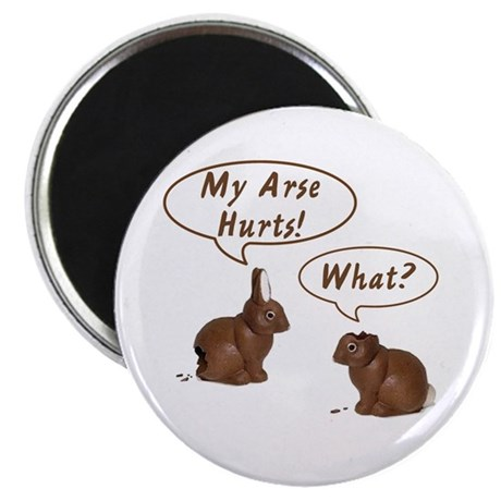 The Chocolate Bunny Magnet