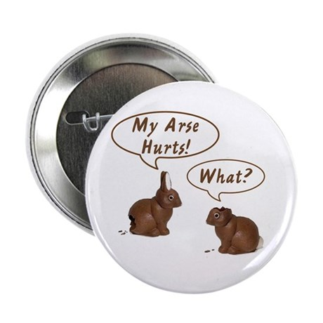"The Chocolate Bunny 2.25"" Button (100 pack)"