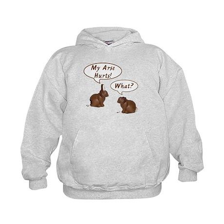 The Chocolate Bunny Kids Hoodie