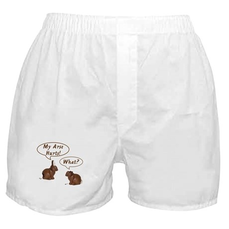 The Chocolate Bunny Boxer Shorts