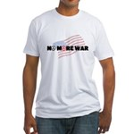 Anti War Men's Fitted T Shirt