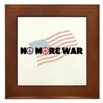 Anti War Tile (Framed)