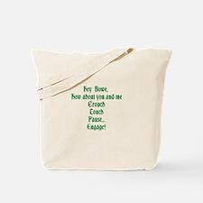Irish Rugby T-Shirt Tote Bag