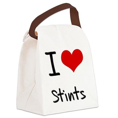 I love Stints Canvas Lunch Bag