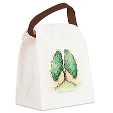 Living Breath  Canvas Lunch Bag