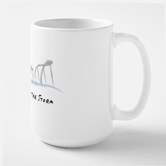 Stronger Than The Storm Large Mug
