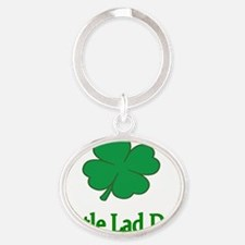 little lad due Oval Keychain